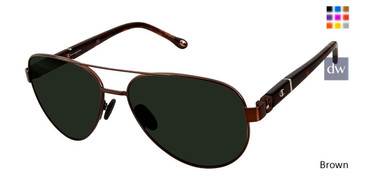 Brown Champion 6061 Polarized Sunglasses.