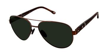 Brown c02 Champion 6061 Polarized Sunglasses.