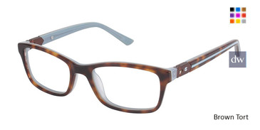 Brown Tort Champion 7002 Tween Champion Eyeglasses.