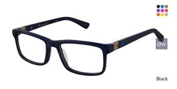Black Champion 7018 Tween Champion Eyeglasses - Teenager.