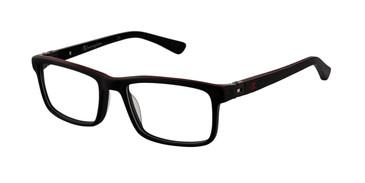 Black c01 Champion 7018 Tween Eyeglasses - Teenager.