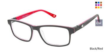 Black/Red Champion 7021 Tween Champion Eyeglasses.