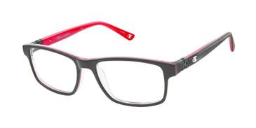 Black/Red c01 Champion 7021 Tween Eyeglasses.