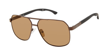 Dark Brown c02 Champion Alter Polarized Sunglasses.