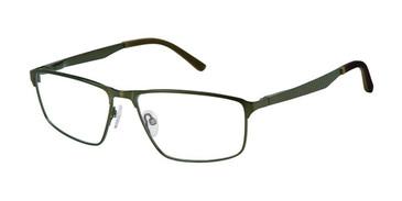Dark Olive c03 Champion FL1004 Fleet Titanium Eyeglasses.