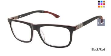 Black/Red Champion Goodluck Tween Champion Eyeglasses.