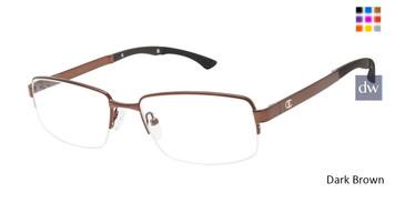 Dark Brown Champion Trey Eyeglasses.