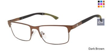 Dark Brown Champion Trip Eyeglasses.
