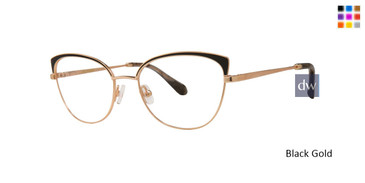 Black Gold Zac Posen Dandridge Eyeglasses.