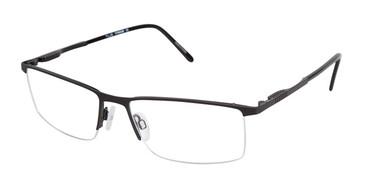 Black Tlg NU015 Eyeglasses.