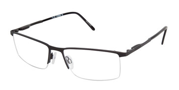 C02 Black Tlg NU015 Titanium Eyeglasses.