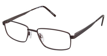 Brown Tlg NU017 Eyeglasses.