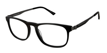 Blk/Gunmetal Tlg NU025 Eyeglasses.
