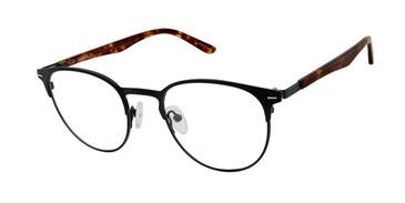 Black/Tort Tlg NU027 Eyeglasses - Teenager.