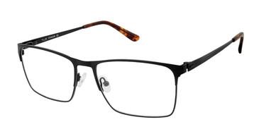 C01 Mt Black Tlg NU028 Titanium Eyeglasses.