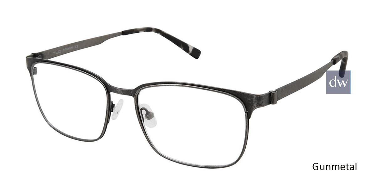 Gunmetal Tlg NU034 Eyeglasses.