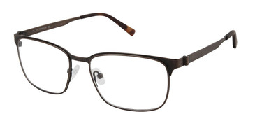 Brown Tlg NU034 Eyeglasses.