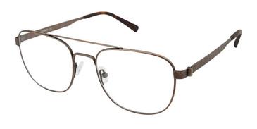 Brown Tlg NU035 Eyeglasses.