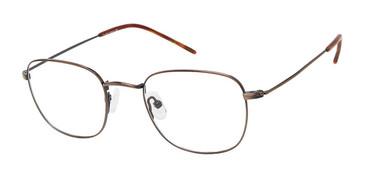Antique Brown NU039 Eyeglasses - Teenager.