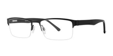 Black Comfort Flex Lyles  Eyeglasses.