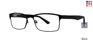 Black Comfort Flex Rick  Eyeglasses.