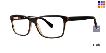 Black Comfort Flex Scott Eyeglasses.