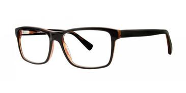 Black Comfort Flex Scott Eyeglasses.