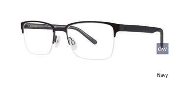 Navy Comfort Flex Ryker Eyeglasses.