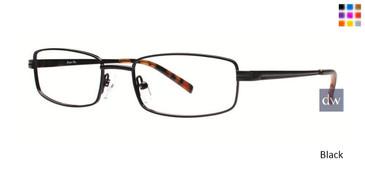 Black Comfort Flex Gavin Eyeglasses.