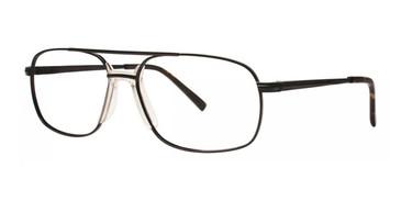Black Comfort Flex Decker Eyeglasses.