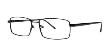 Black Comfort Flex Emmett Eyeglasses.