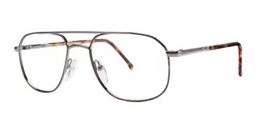 Gunmetal-Tortoise Comfort Flex Henry Flex Eyeglasses.