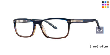 Blue gradient Comfort Flex Garret Eyeglasses.