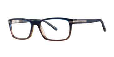 Blue Gradient Comfort Flex Garret Eyeglasses.