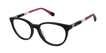 Black Magenta Sperry ANGELFISH Girls Tween Eyeglasses - Teenager.