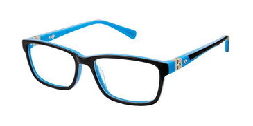 Black/Blue Sperry BATTEN Boys Tween Eyeglasses - Teenager.