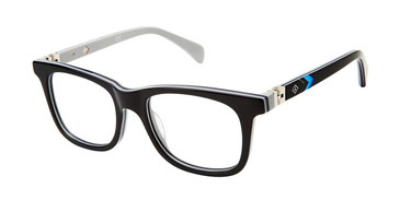 Black/Grey Sperry BLUEFISH Boys Tween Eyeglasses - Teenager.