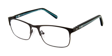 Matte Black Sperry CUNNINGHAM Boys Tween Eyeglasses - Teenager.