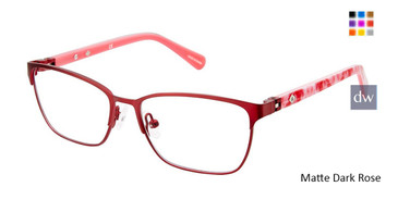 Matte Dark Rose Sperry Halyard Girls Tween Sperry Eyeglasses - Teenager.