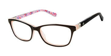 Black/Purple Sperry HARKEN Girls Tween Eyeglasses.