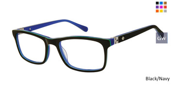 Black/Navy Sperry RUDDER Boys Tween Sperry Eyeglasses.