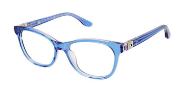 Trans Blue Sperry SEAFISH Girls Tween Eyeglasses - Teenager.