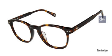 Tortoise Sperry ACADIAUF Tailored Fit Sperry Eyeglasses.