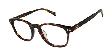 Tortoise Sperry ACADIAUF Tailored Fit Eyeglasses.