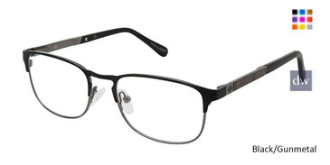 Black/Gunmetal Sperry BREWER Eyeglasses.