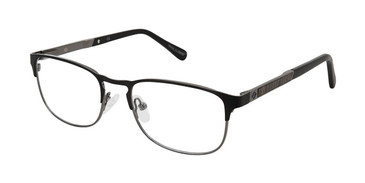 Black/Gunmetal Sperry BREWER Eyeglasses.