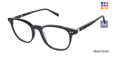 Black Grain Sperry COMPASS Eyeglasses - Teenager.