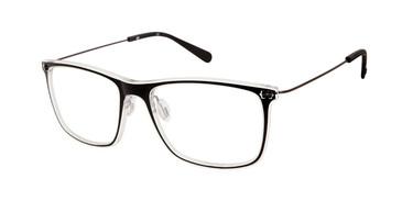 Black/Crystal Sperry CONWAY Eyeglasses.