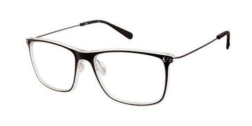 Black/Crystal Sperry CONWAY Eyeglasses.