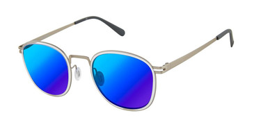 Crystal/Silver Sperry EXETER Polarized Sunglasses - Teenager.